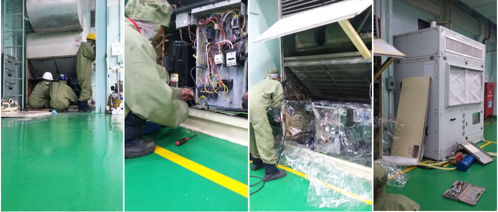 SERVICE  AND MAINTENANCE  HVAC   PT. INDONESIA TEIJIN FILM SOLUTIONS  (TIFICO)